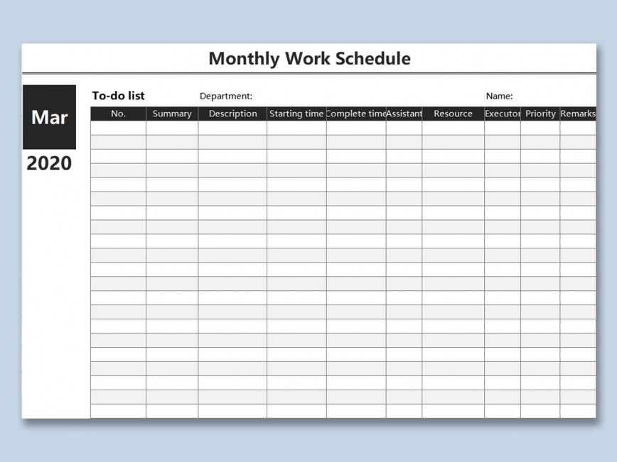 000 Magnificent Weekly Work Schedule Template High Resolution  Free Employee Excel Pdf Bi-weekly