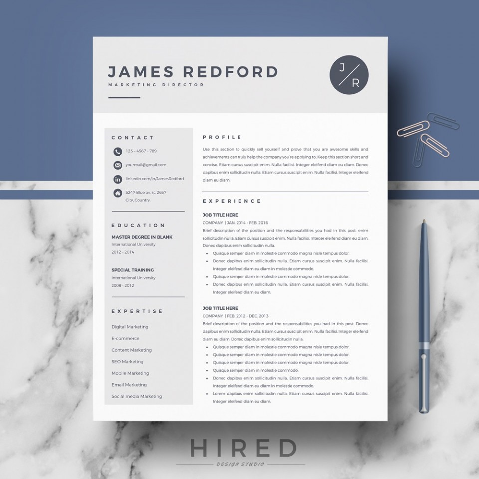 000 Magnificent Word Resume Template Mac Concept  2011 Free Microsoft960