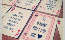 000 Marvelou 52 Reason Why I Love You Deck Of Card Free Template Highest Clarity