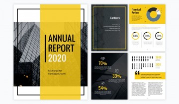000 Marvelou Annual Report Design Template Indesign Highest Quality  Free Download360