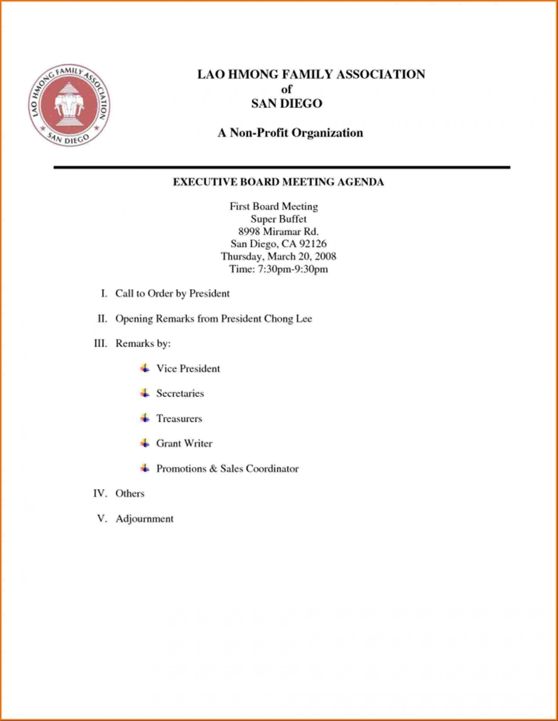 000 Marvelou Board Meeting Agenda Template Example  India Australia Format1920