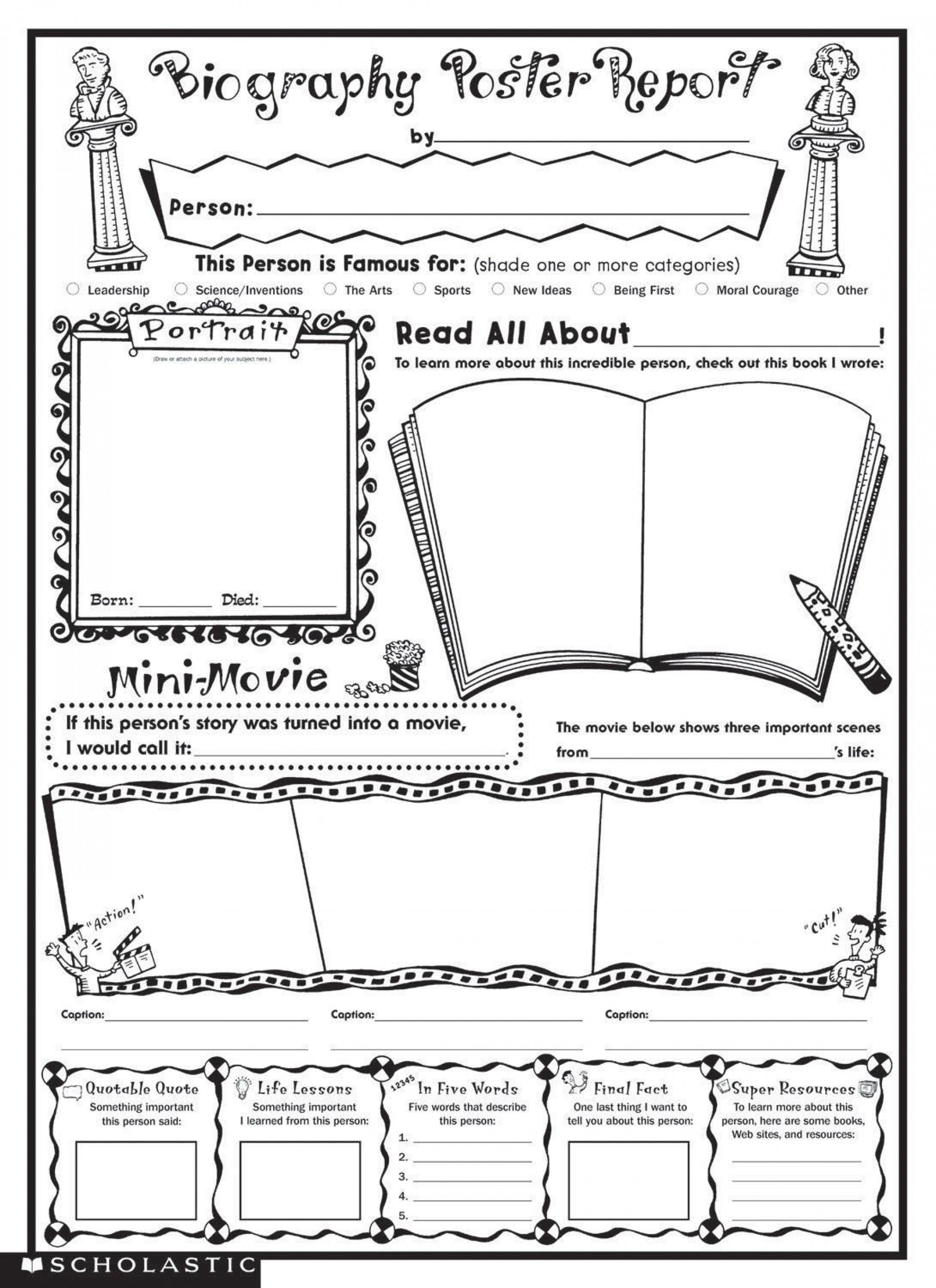 000 Marvelou Book Report Format 6th Grade Pdf Highest Clarity  Template1920