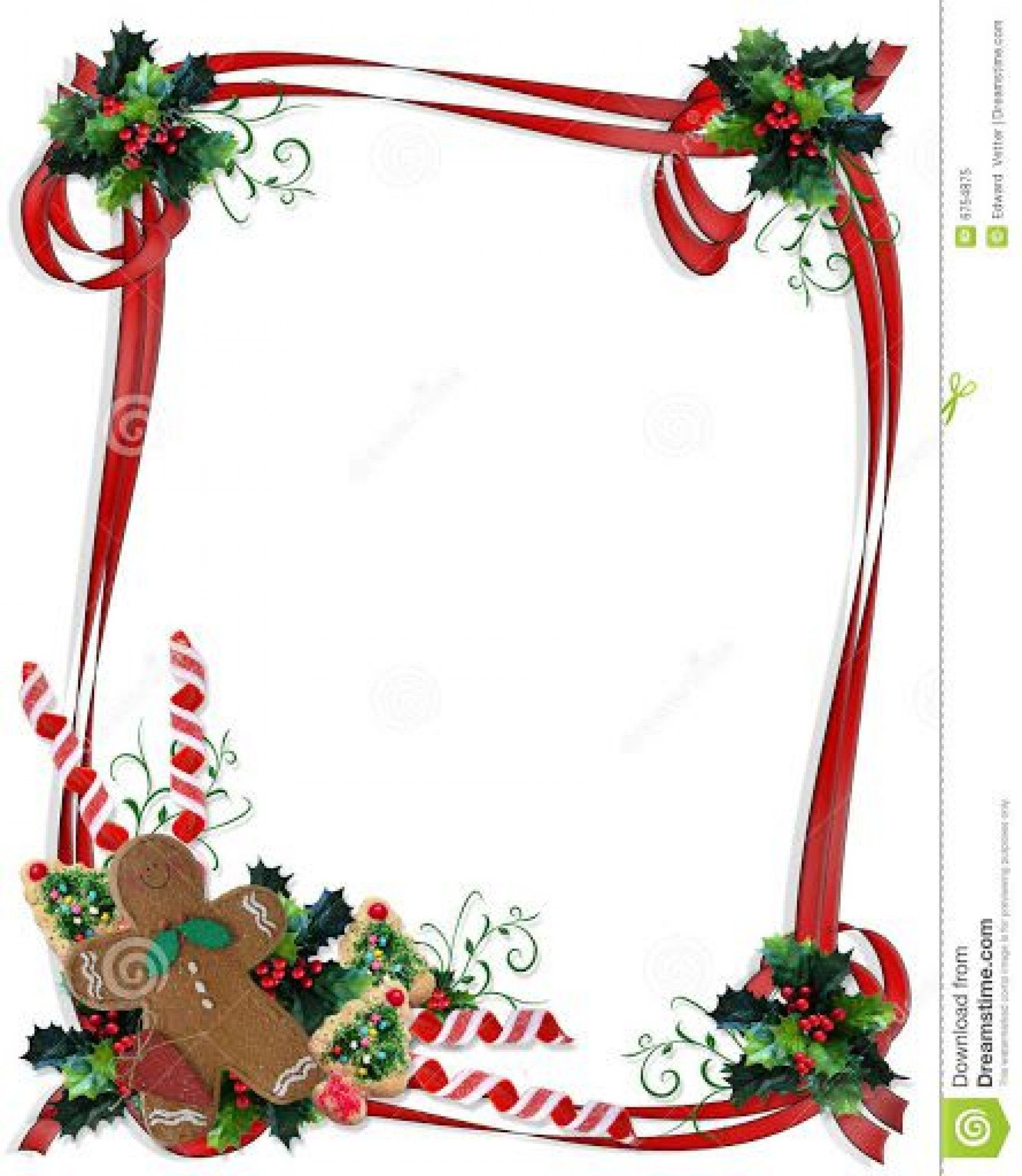 000 Marvelou Christma Stationery Template Microsoft Word Sample  FreeFull
