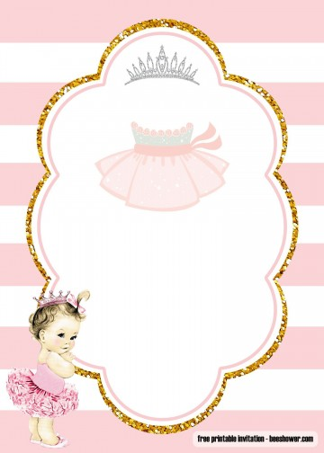 000 Marvelou Free Baby Shower Invitation Template Idea  Printable For A Girl Microsoft Word360