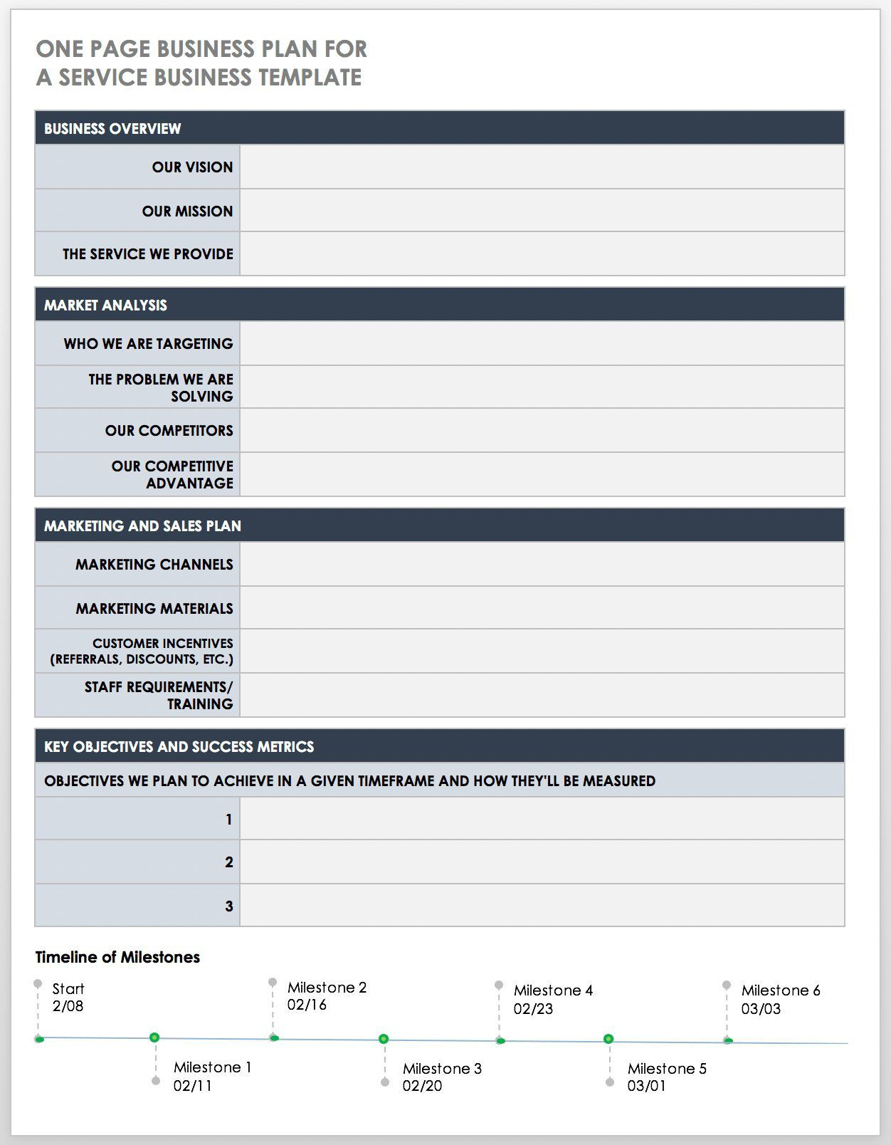 000 Marvelou Free Busines Plan Template Word Highest Quality  Download Document Sample DocFull