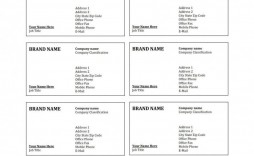 000 Marvelou Free Printable Blank Busines Card Template For Word Design