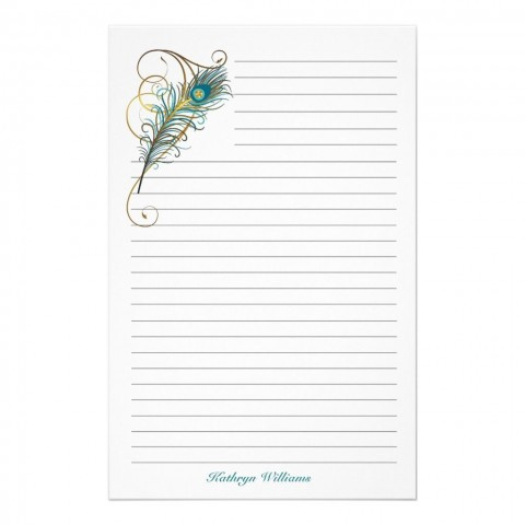 000 Marvelou Free Printable Stationery Paper Template Example 480
