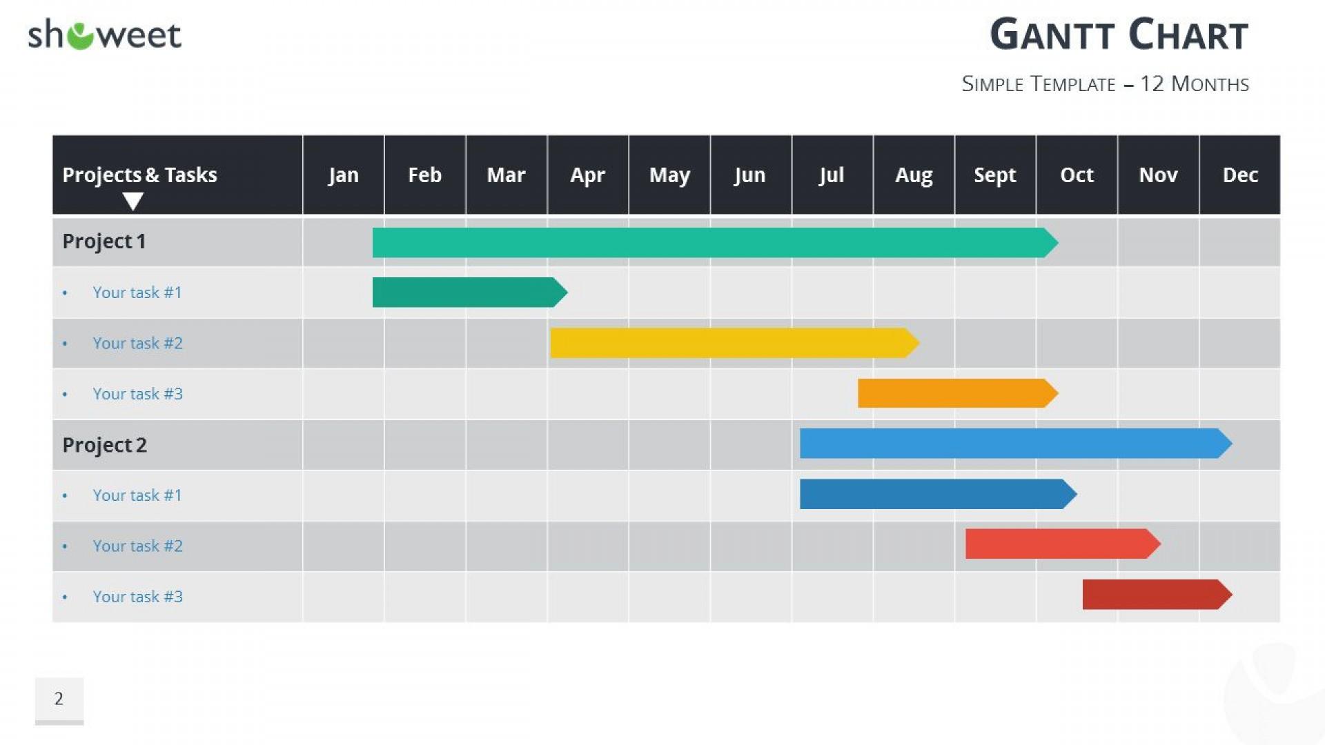000 Marvelou Gantt Chart Powerpoint Template Example  Microsoft Free Download Mac1920