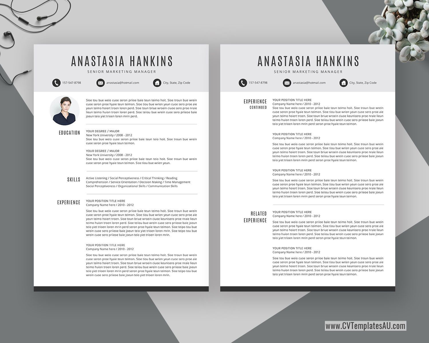 000 Marvelou Simple Professional Cv Template Word Highest Quality Full