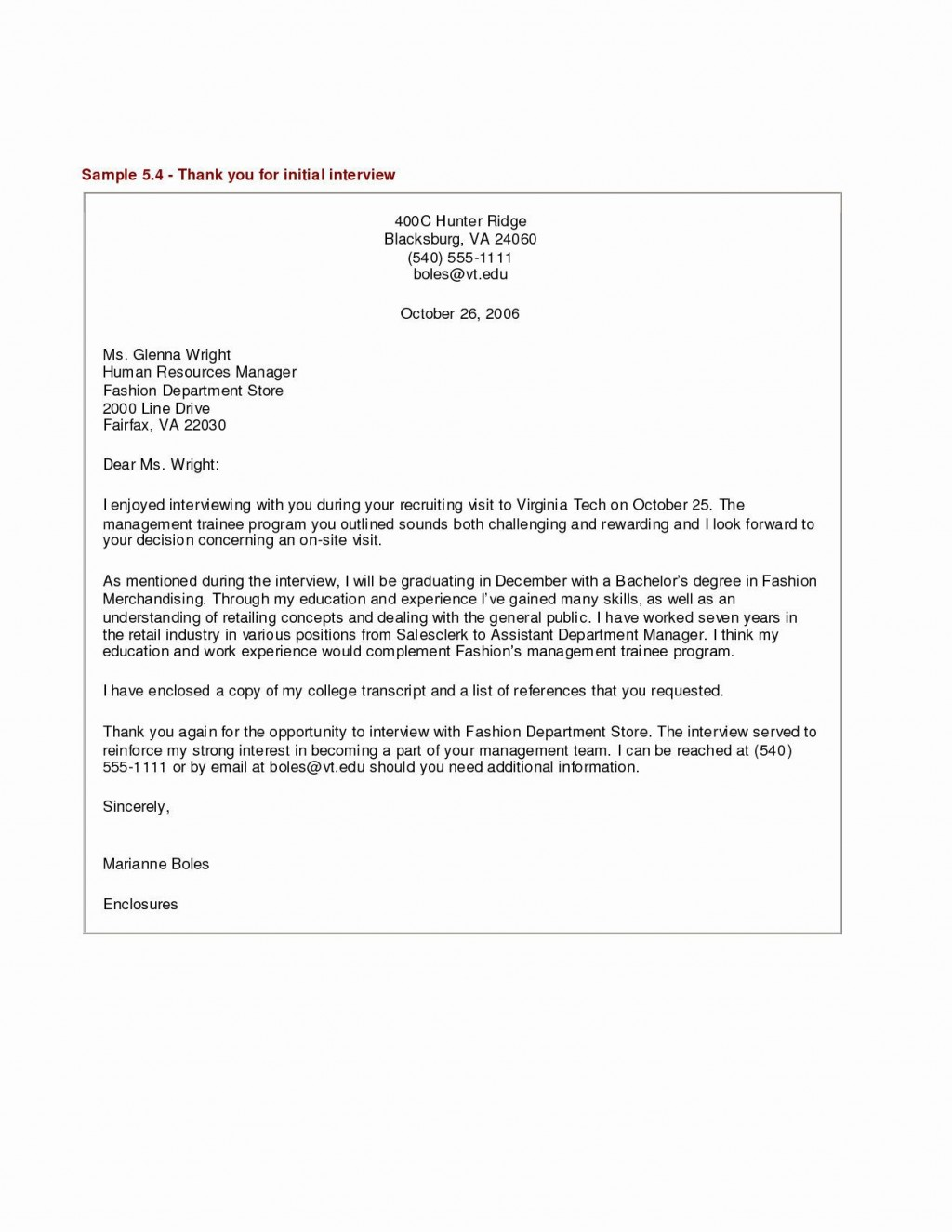 000 Marvelou Thank You Note Template Medical School Interview Inspiration  Letter SampleLarge