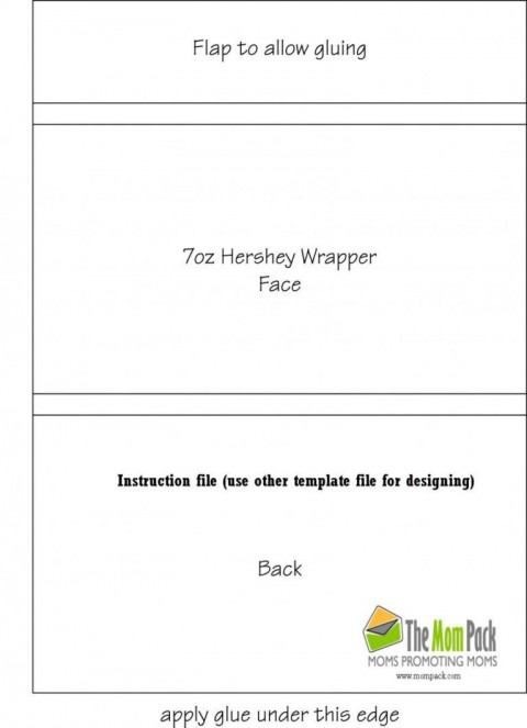 000 Outstanding Candy Bar Wrapper Template Microsoft Word Idea  Blank For Printable Free480
