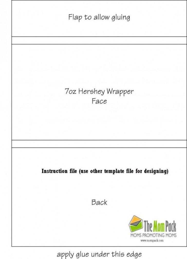 000 Outstanding Candy Bar Wrapper Template Microsoft Word Idea  Blank For Printable Free728