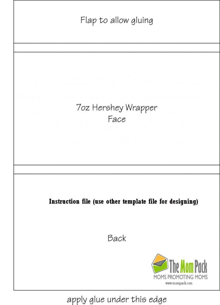 000 Outstanding Candy Bar Wrapper Template Microsoft Word Idea  Blank For Printable FreeFull