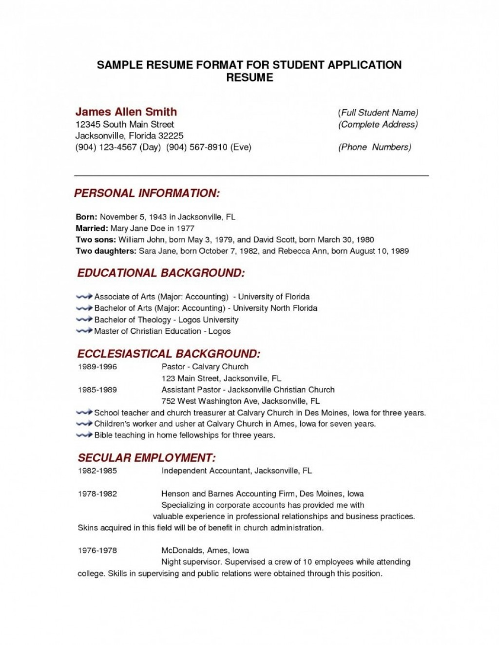000 Outstanding College Admission Resume Template Highest Quality  Microsoft Word Application DownloadLarge