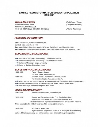 000 Outstanding College Admission Resume Template Highest Quality  Microsoft Word Application Download320
