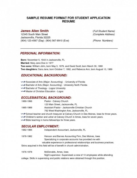000 Outstanding College Admission Resume Template Highest Quality  Microsoft Word Application Download480