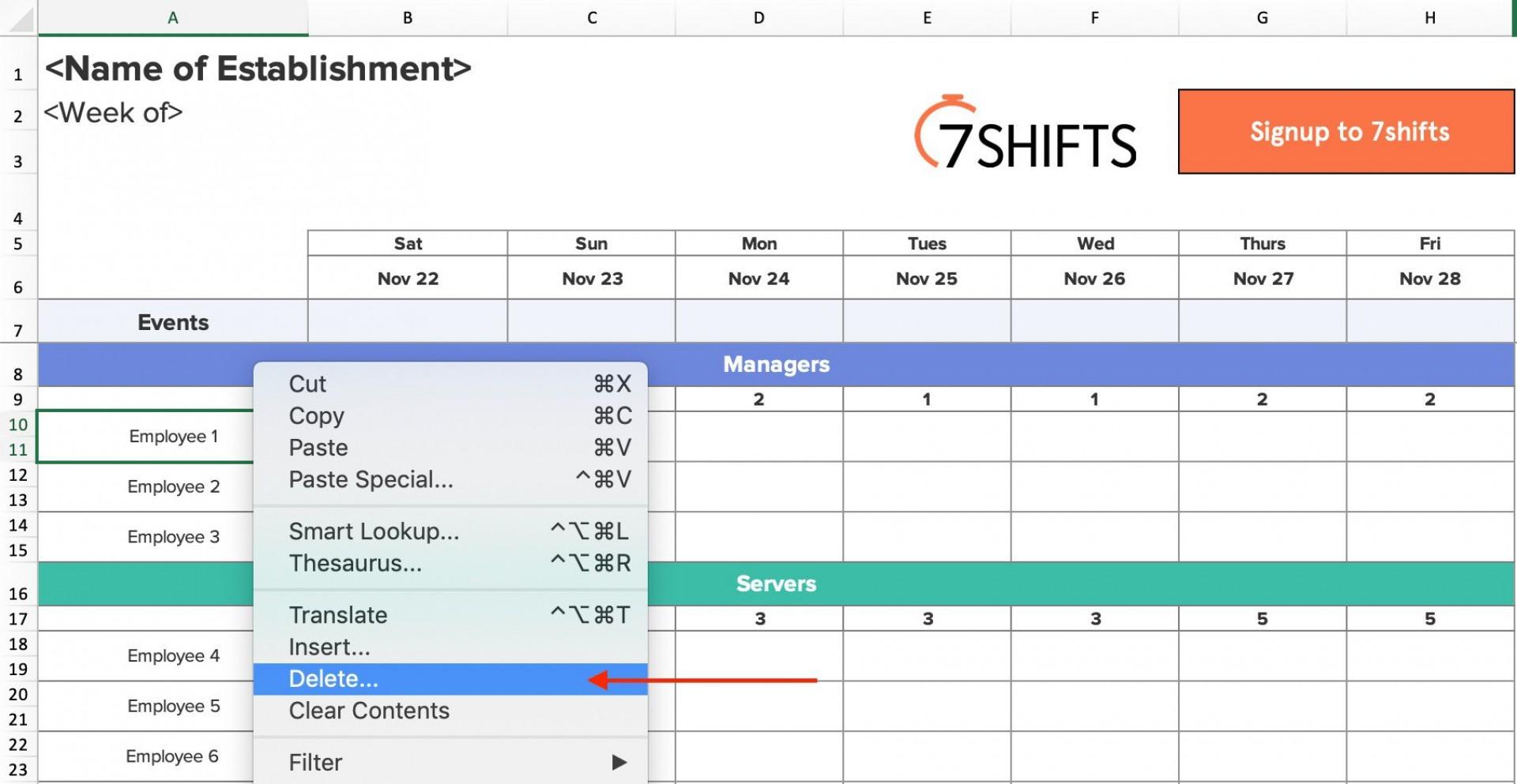 000 Outstanding Employee Shift Scheduling Template Example  Schedule Google Sheet Work Plan Word Weekly Excel Free1920