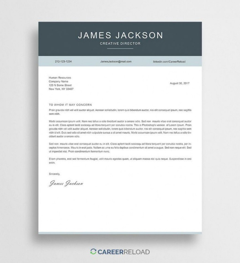 000 Outstanding Free Download Cover Letter Sample High Resolution  For Fresher Pdf TemplateLarge