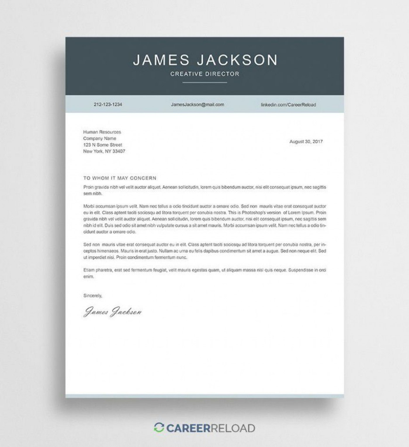 000 Outstanding Free Download Cover Letter Sample High Resolution  For Fresher Pdf Template1400
