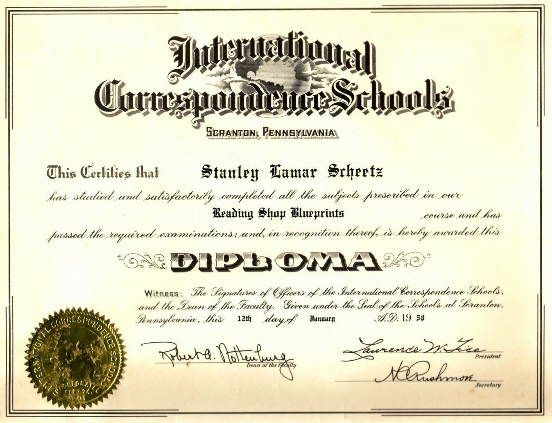 000 Outstanding Free Printable High School Diploma Template Resolution  With Seal1920