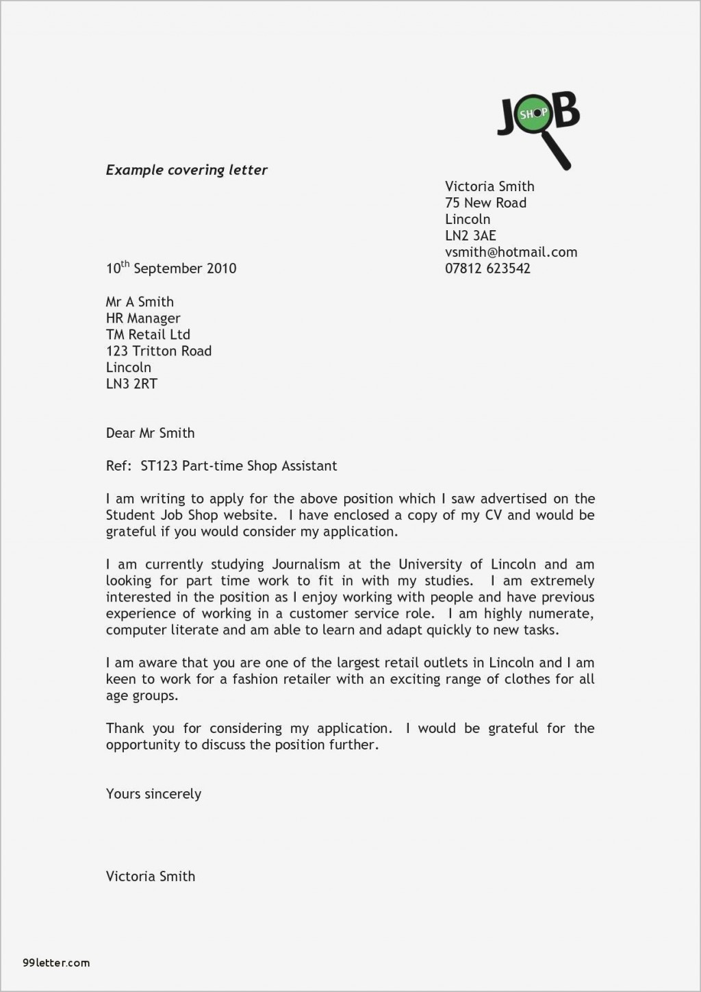 000 Outstanding Generic Cover Letter Template Uk Example Large
