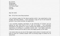000 Outstanding Generic Cover Letter Template Uk Example