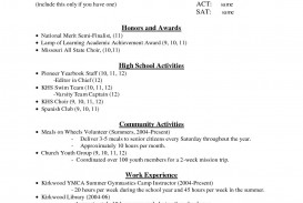 000 Outstanding High School Student Resume Template Resolution  Free Google Doc