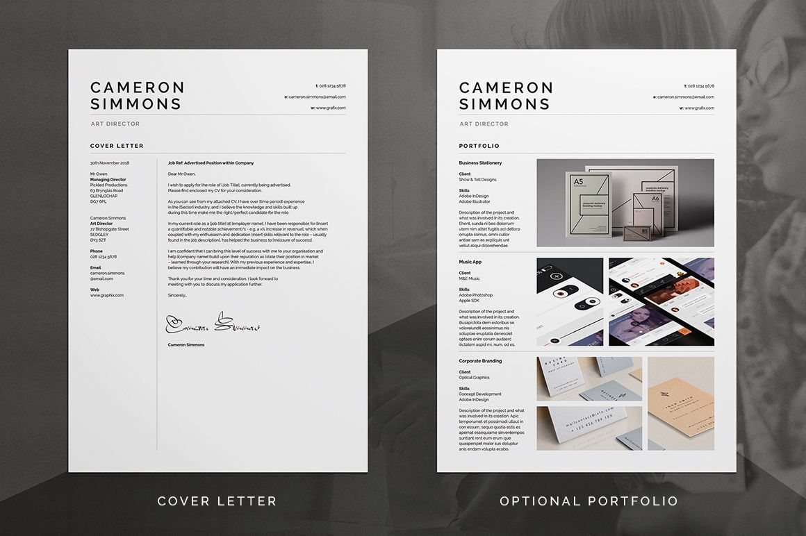 000 Outstanding Microsoft Word Portfolio Template High Def  Career Professional Free DownloadFull