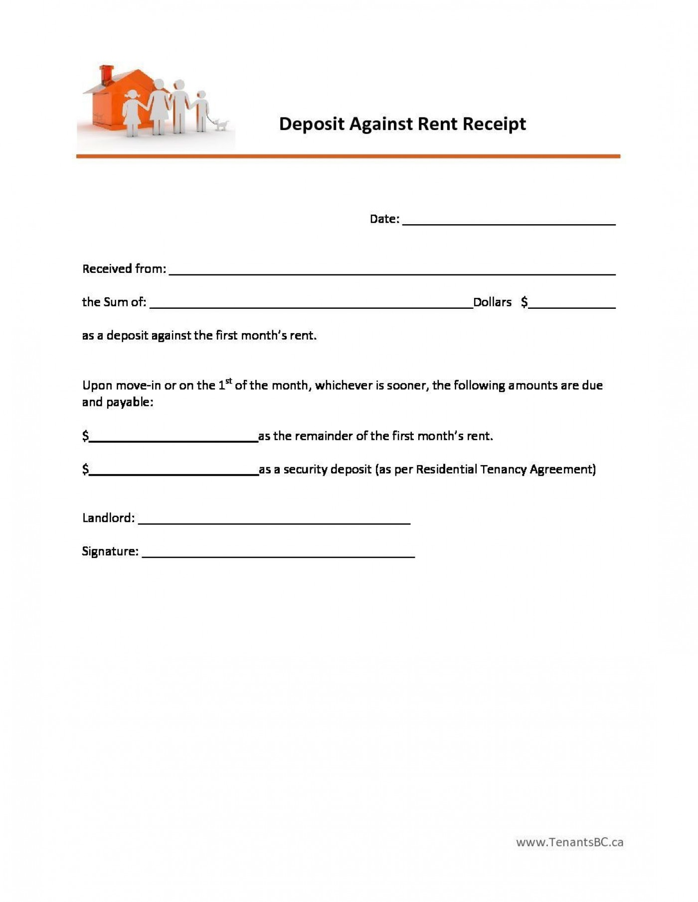 000 Outstanding Rent Receipt Sample Doc Highest Quality  Format Free Download Word India1400