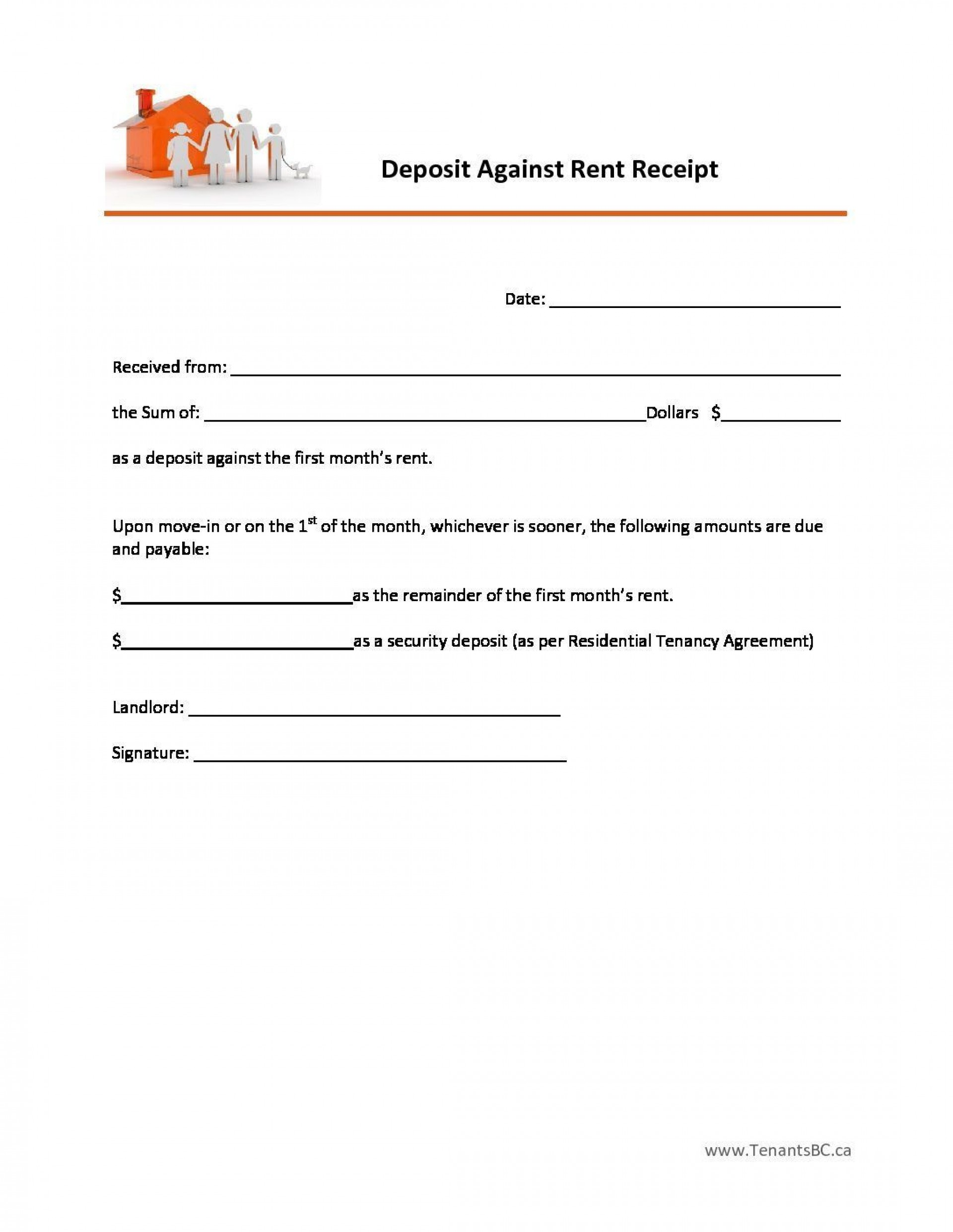 000 Outstanding Rent Receipt Sample Doc Highest Quality  Format Free Download India Word1920