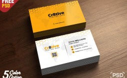 000 Outstanding Simple Busines Card Template Psd Inspiration  Design Minimalist Free Visiting In Photoshop