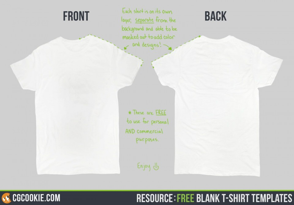 000 Outstanding T Shirt Template Free High Resolution  Design Psd Download Illustrator960