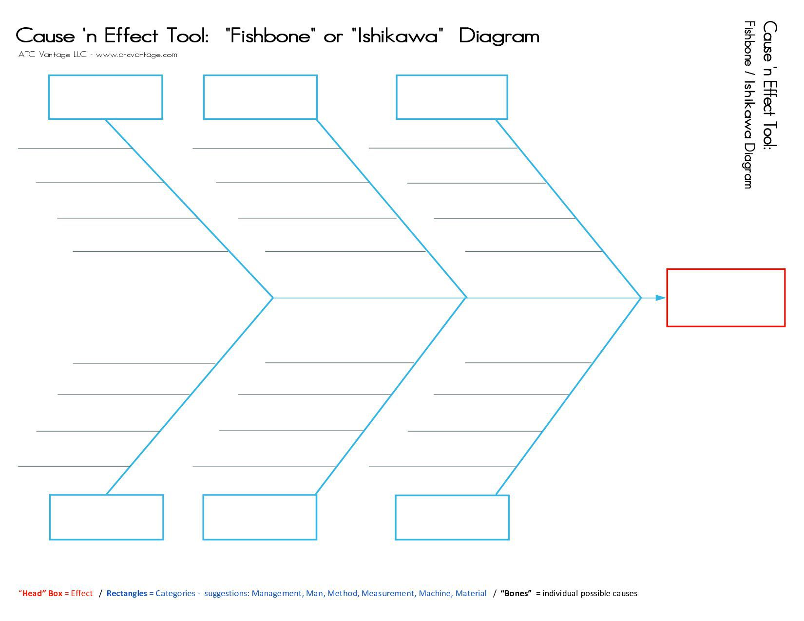 000 Phenomenal Blank Fishbone Diagram Template Concept  Downloadable Word PdfFull