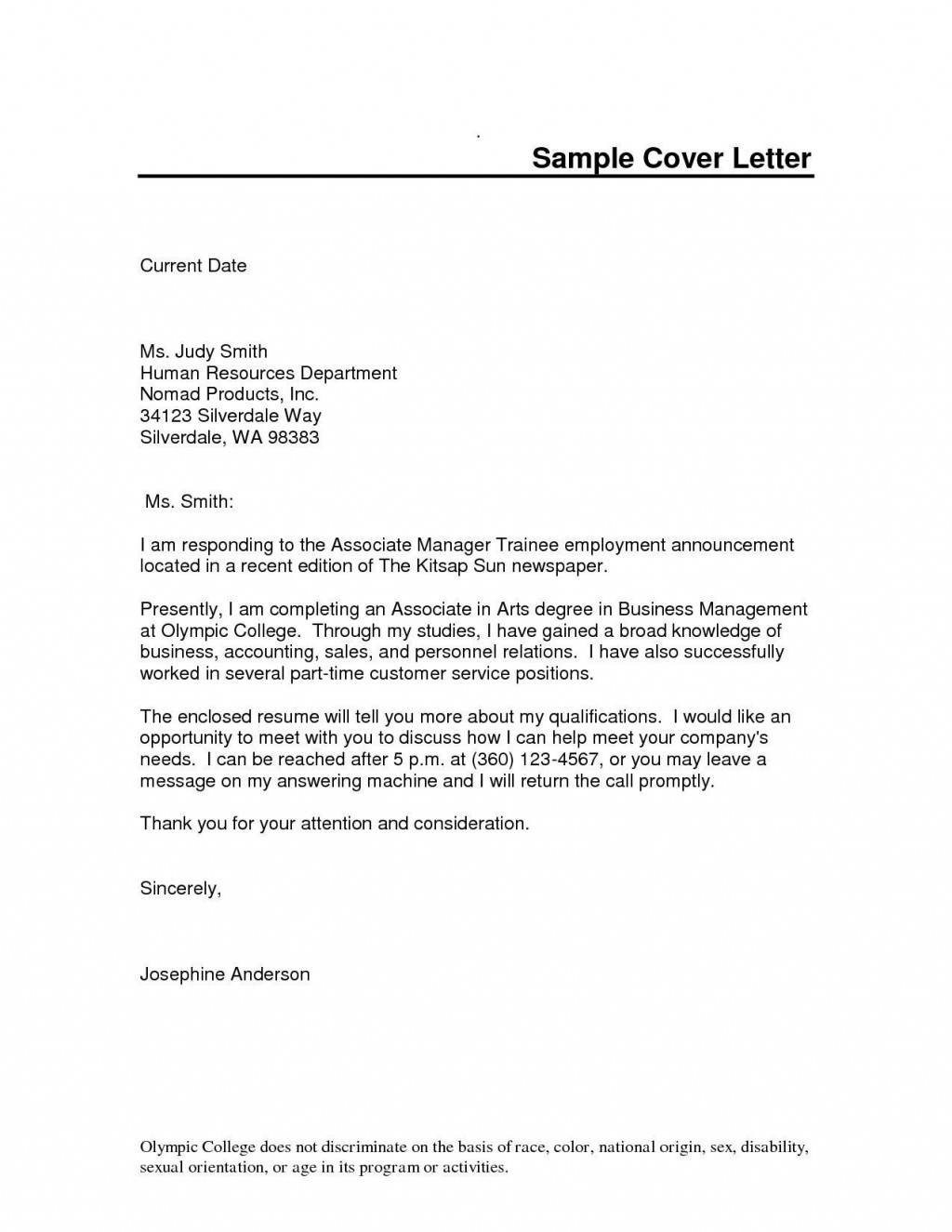 000 Phenomenal Cover Letter Sample Template Word Example  Resume MicrosoftLarge