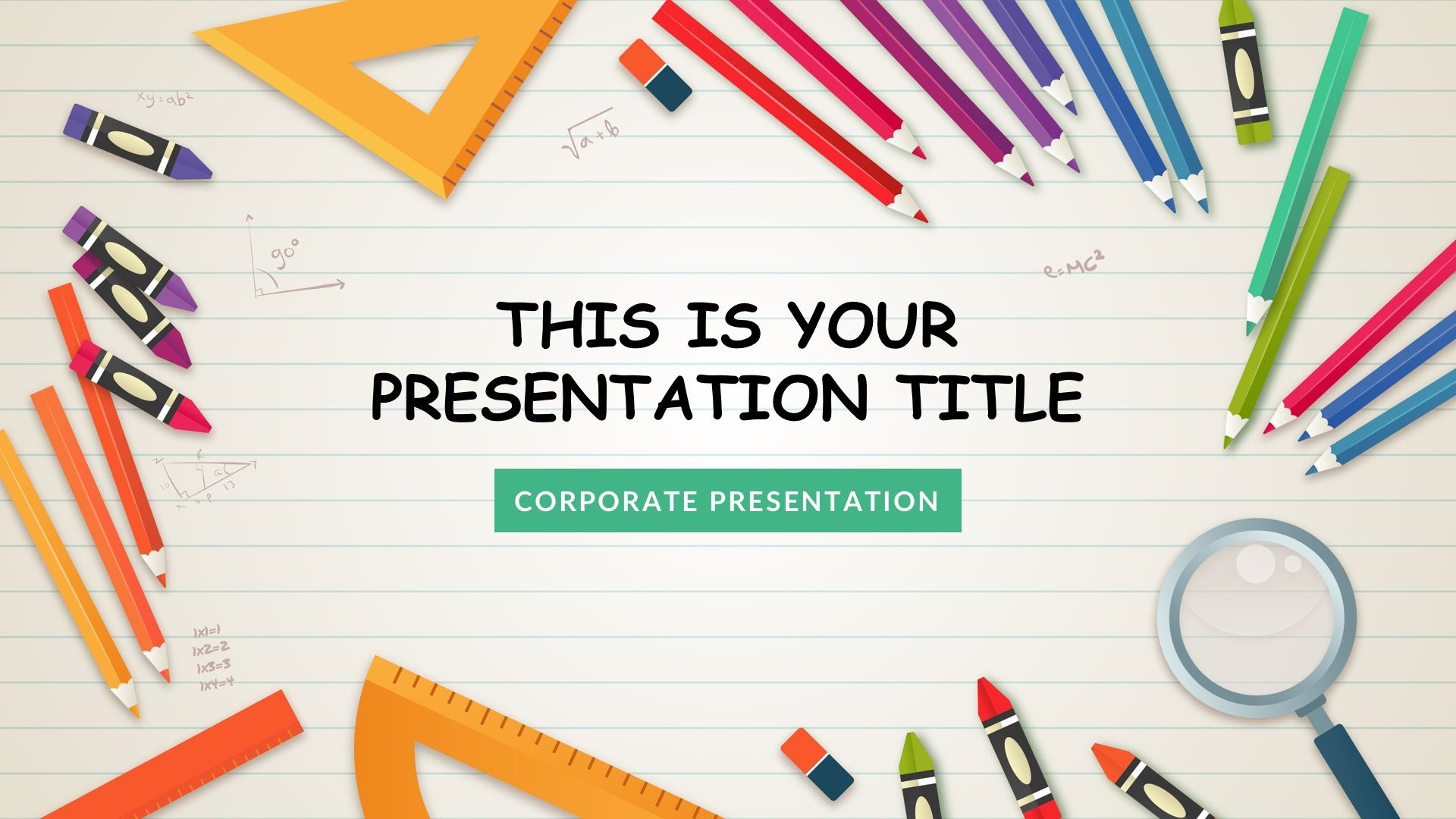 000 Phenomenal Free Google Slide Template High Definition  Templates For Graduation MathFull