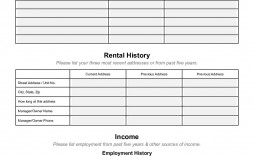 000 Phenomenal Free Rental Application Template Idea  Form Oregon Credit Online