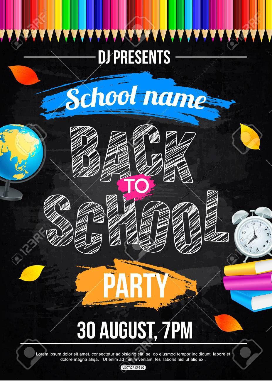 000 Phenomenal Free School Disco Flyer Template Inspiration  Templates PosterFull