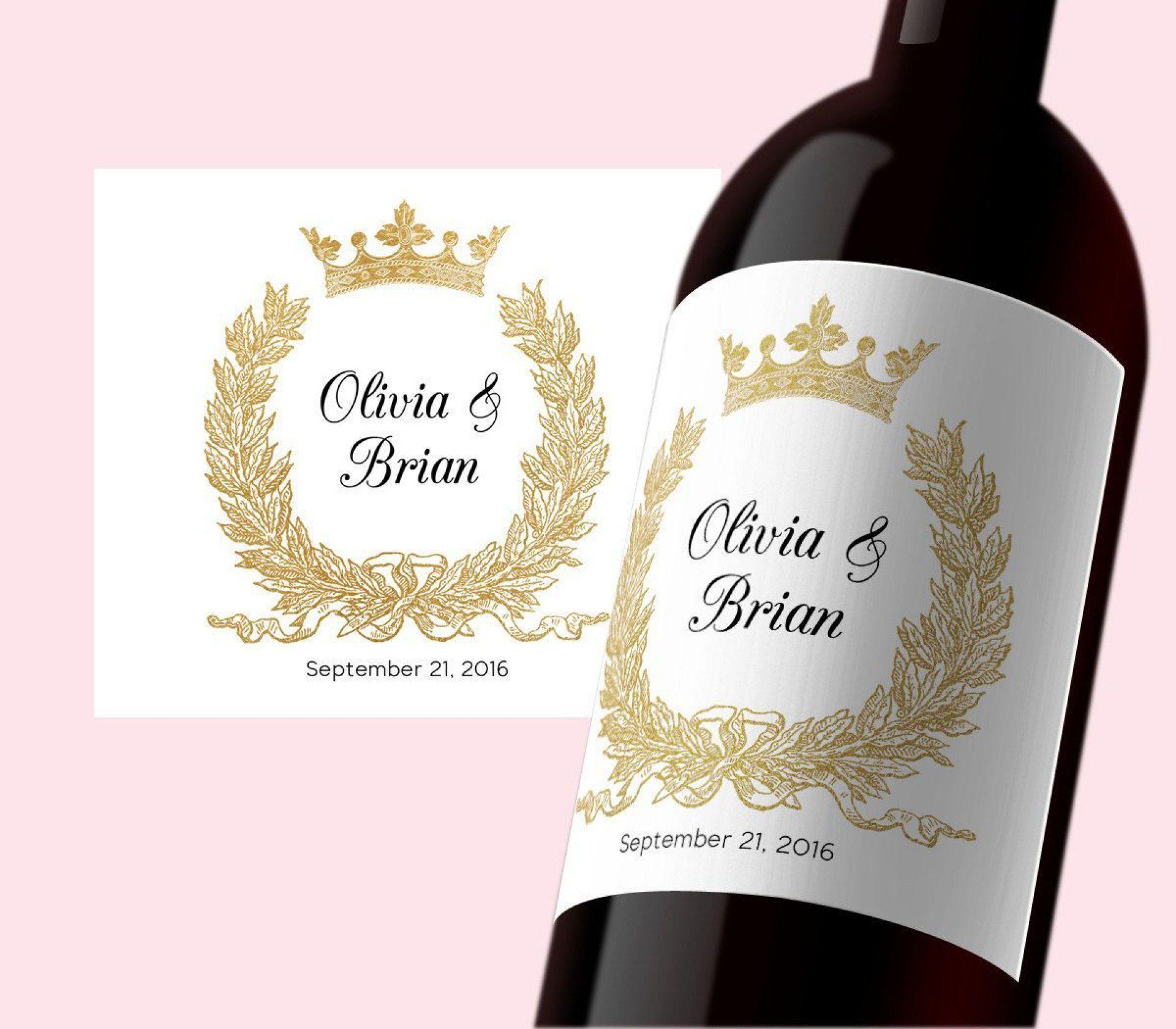 000 Phenomenal Free Wine Bottle Label Template Idea  Mini PrintableFull