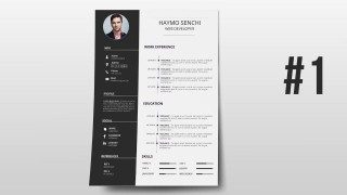 000 Phenomenal How To Create A Resume Template In Photoshop High Resolution 320