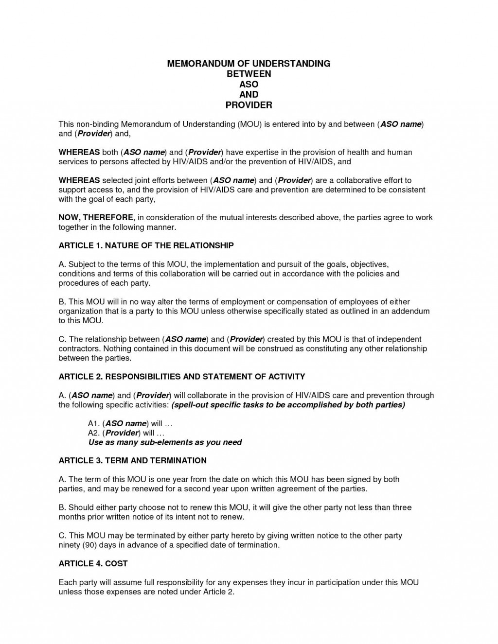 000 Phenomenal Memorandum Of Agreement Template Example  Templates Sample Tagalog South Africa Philippine DocLarge
