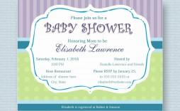 000 Phenomenal Microsoft Word Invitation Template Baby Shower Design  Free Editable Invite