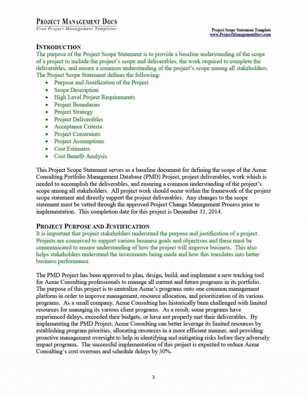 000 Phenomenal Project Scope Management Plan Template Free Highest Clarity Large