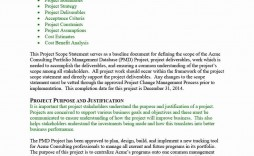 000 Phenomenal Project Scope Management Plan Template Free Highest Clarity