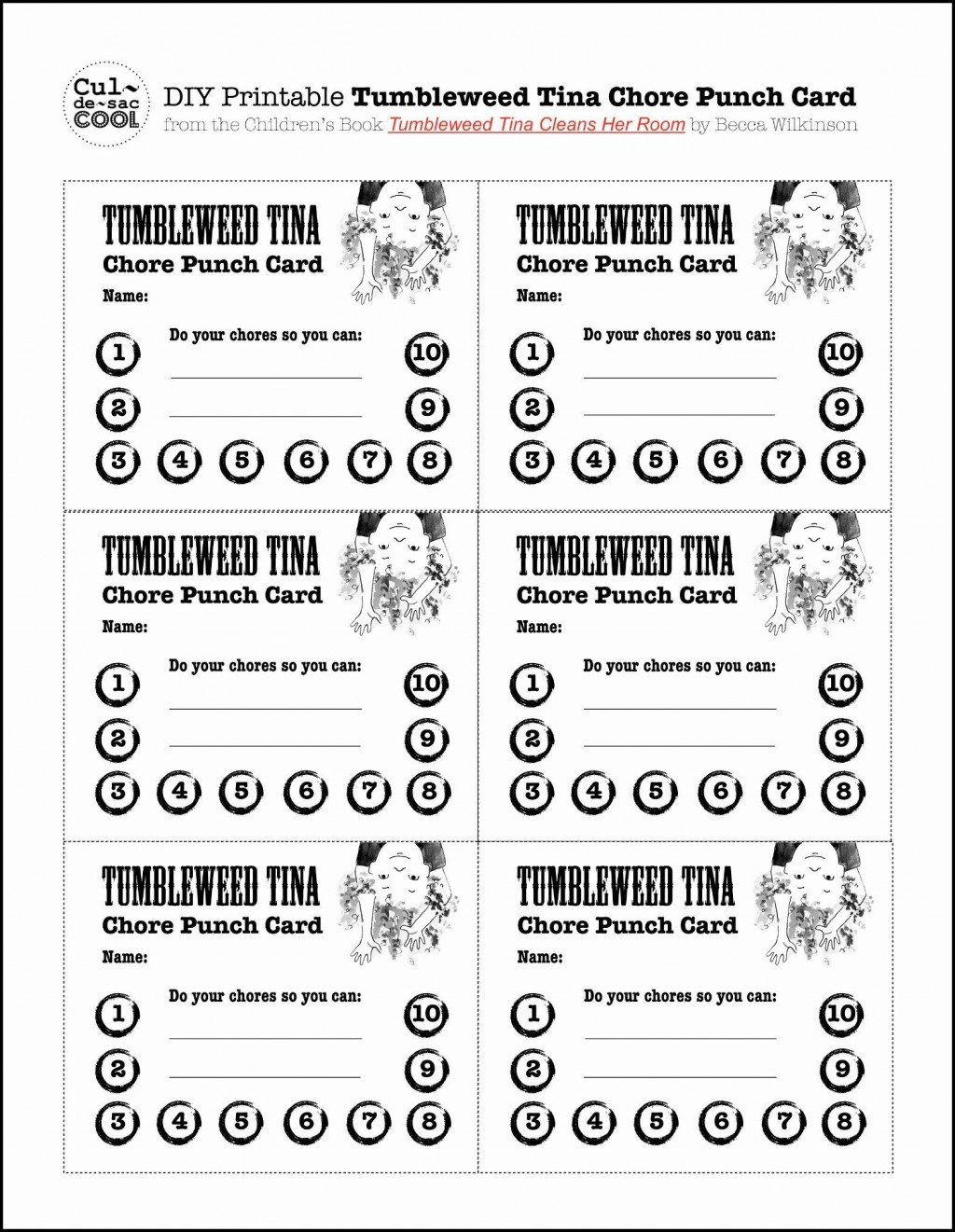 Punch Card Template Word Addictionary