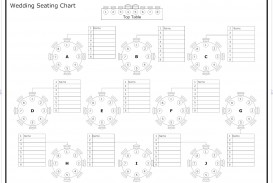 000 Phenomenal Seating Chart Wedding Template Design  Alphabetical Word Table Plan