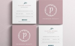 000 Phenomenal Square Busines Card Template Sample  Free Download Photoshop
