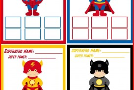 000 Phenomenal Superhero Invitation Template Free High Def  Birthday Party