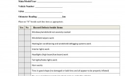 000 Phenomenal Vehicle Inspection Form Template High Def  Printable Pdf Word