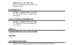 000 Rare Basic Student Resume Template Picture  Templates High School Google Doc