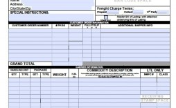 000 Rare Bill Of Lading Template Excel Concept  Simple House Format In